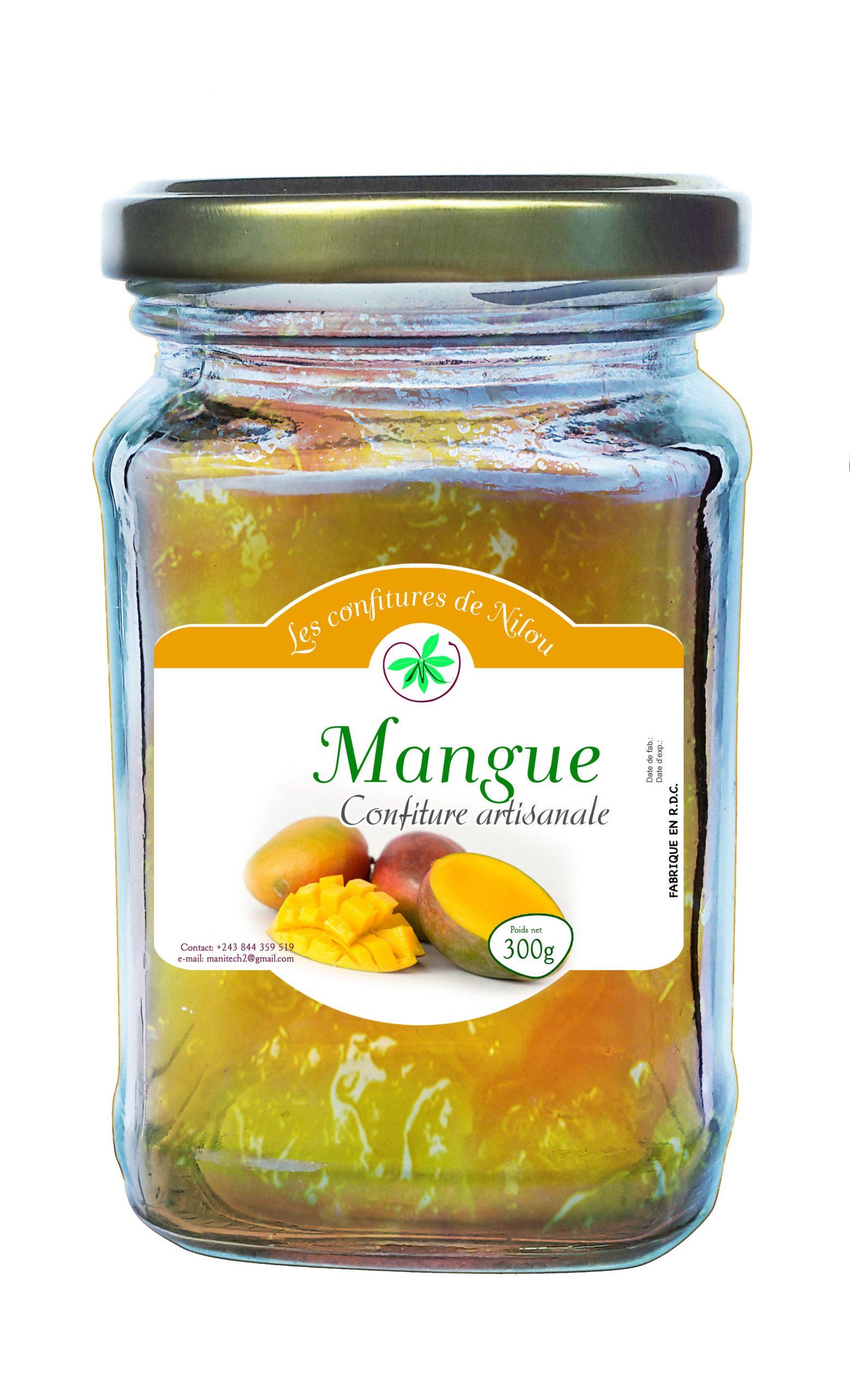 Confiture de mangue-Manitech Congo-2019-Kinshasa RDCongo