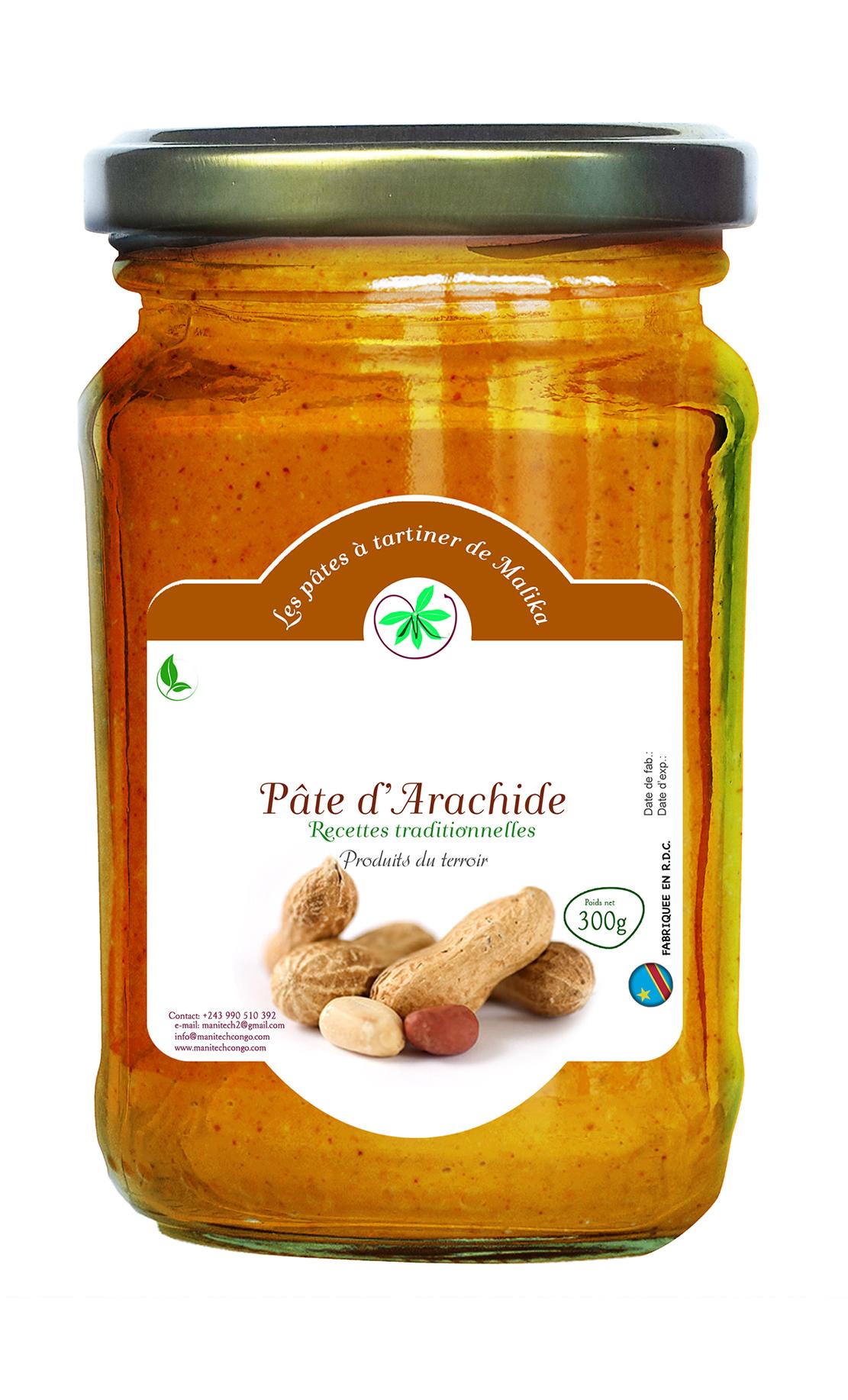 Pâte d'arachides-Manitech Congo-2019